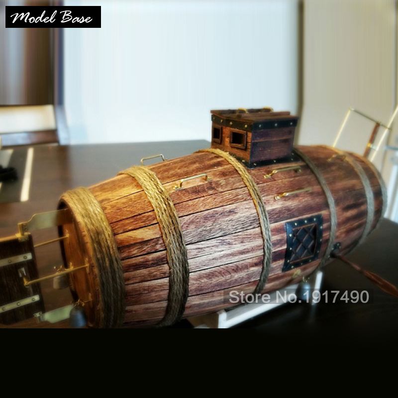 Us 58 68 35 Off Wood Ships Model Kits Diy Adult Wooden Model Ship Assembly Childrens Educational Games Wood Boats Model Submarine For Grown Ups In