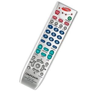 Image 2 - Universal Fernbedienung Lernen Fernbedienung Für TV/SAT/DVD/CBL/DVB T/AUX Kopie Russische englisch Manuelle Chunghop SRM 403E