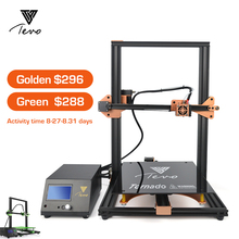 TEVO Tornado 3D Printer Fully Assembled Aluminium Extrusion impresora 3d printer with Titan Extruder Large Printing Golden/Green