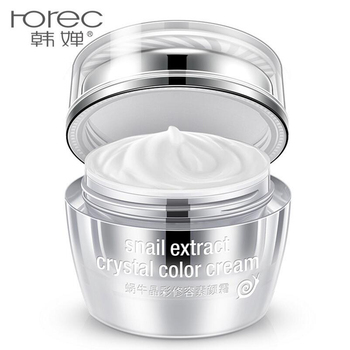 HANCHAN Snail Extract Face Cream Skin Care Concealling Whitening Moisturizing Day Cream Anti-Aging Anti Wrinkle 50g Facial Care