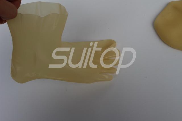 Transparente Vermelho Preto meias de látex dedo borrachas Industrial molde meia