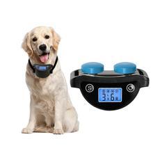 LanLan Интеллектуальный многофункциональный ЖК-экран с USB Анти лай ошейник устройство для обучения домашних животных собак