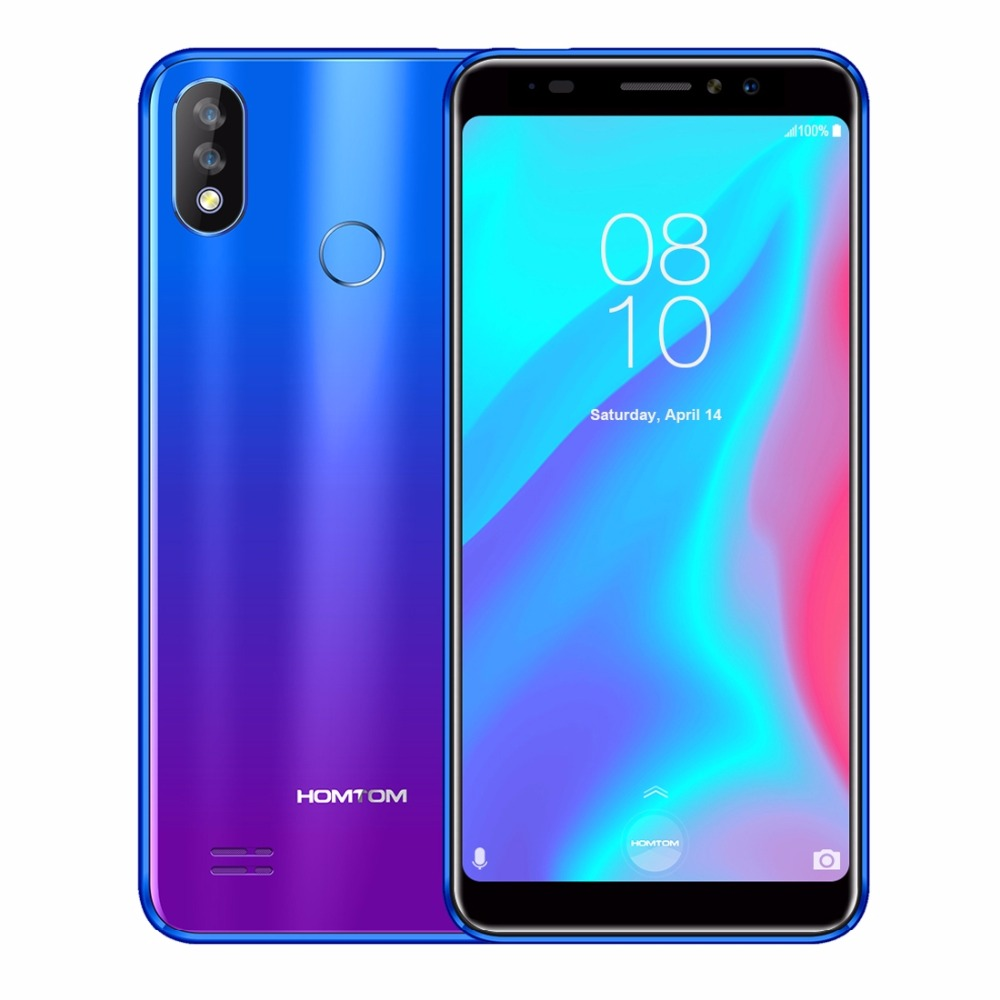 HOMTOM C8 Mobile Phone 5.518:9 Full Display Android 8.1 MT6739 Quad Core 2GB+16GB Smartphone Face Unlock  Fingerprint ID 4G FDDHOMTOM C8 Mobile Phone 5.518:9 Full Display Android 8.1 MT6739 Quad Core 2GB+16GB Smartphone Face Unlock  Fingerprint ID 4G FDD