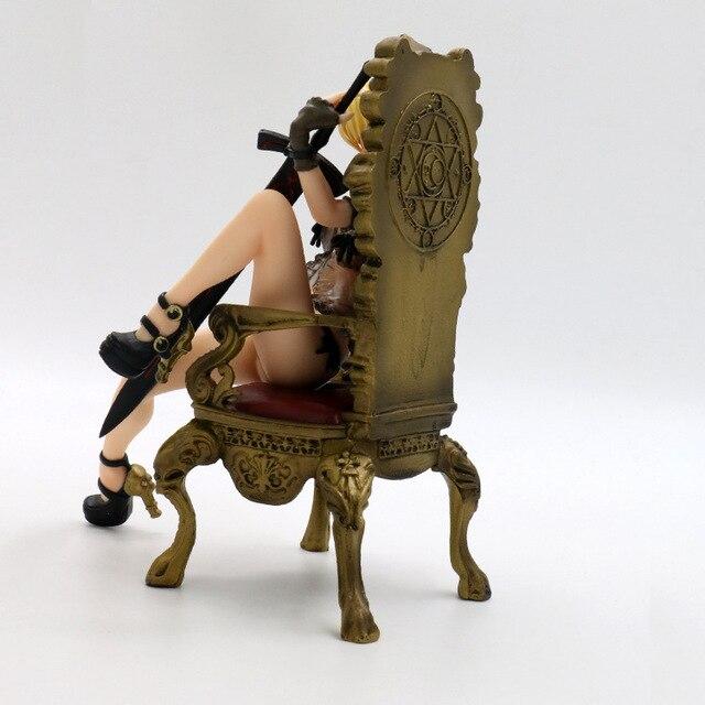 16 см Судьба Ночь Сабер трон фигурку ПВХ игрушечные лошадки Коллекция аниме мультфильм модель коллекционные 1