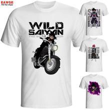 Black Goku Super Saiyan Rose T Shirt Future Episode Design T-shirt Men Women Printed Tee Novelty Style Tshirt