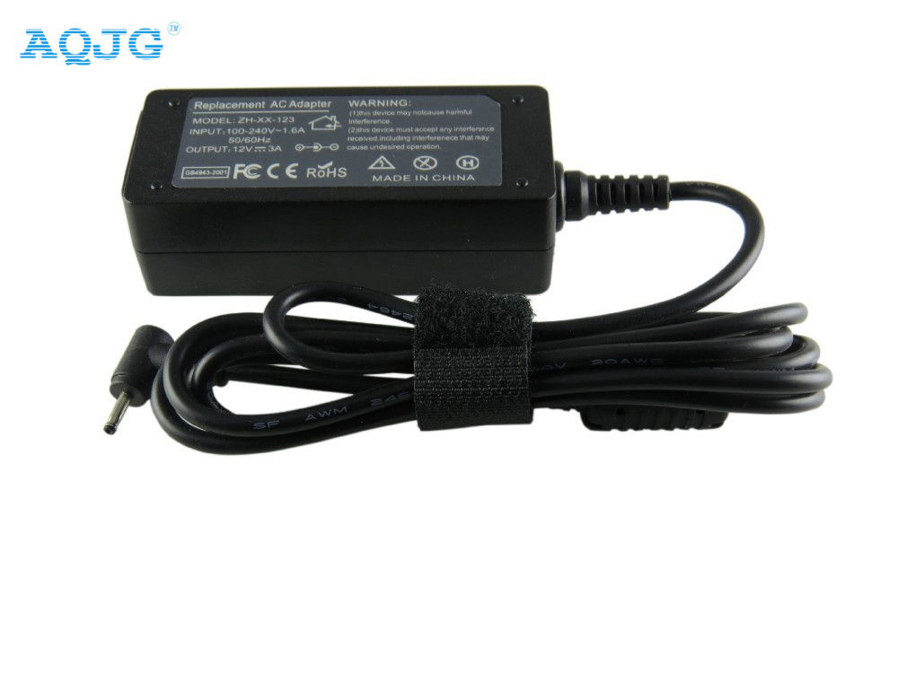 12V 3.33A 40W laptop AC power adapter charger for Samsung Smart PC 500T XE300TZC XE300TZCI XE700T1C Pro 700T 2.5mm * 0.7mm AQJG все цены