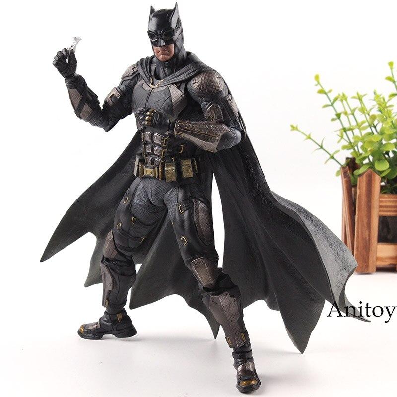 Jouer Arts Kai DC Comics Justice League Figurine No 1 Batman Jouet Figure Costume Tactique Ver. Jouets de Collection en PVC 25 cm