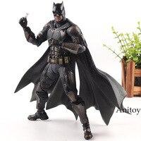 Play Arts Kai DC Comics Justice League Action Figure No.1 Batman Toy Figure Tactical Suit Ver. PVC Collection Model Toys 25cm