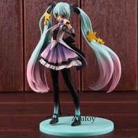 Hatsune Miku figurita 10 ° aniversario edición PVC Anime figuras de acción coleccionable modelo de juguete