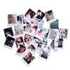 60 Vintage Cards 60 Envelope With 60 Stickers Set LOMO Mini Greeting Card Postcard Kraft Envelope