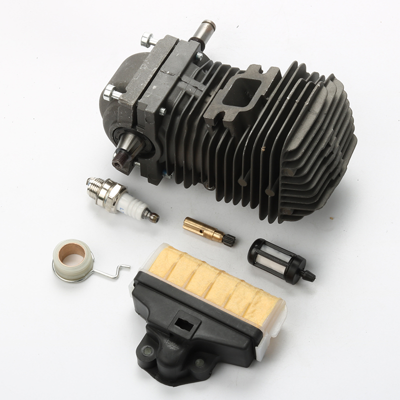New Cylinder Piston Kits Crankshaft with Air Fuel Filter Worm Gear For Stihl 023 025 MS230 MS250 Chainsaw цена