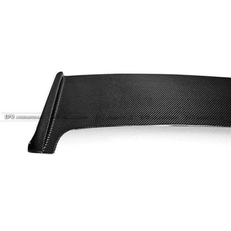 Carbon Fiber Rear Spoiler Wing Car-Styling Accessories Fit For Subar Impreza GRB STI
