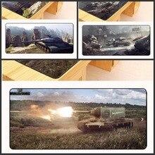Yuzuoan Бесплатная доставка World of Tanks коврик для мыши Коврик для мыши Notbook компьютерная мышь коврик большой игровой коврик оверлок край коврик для мыши