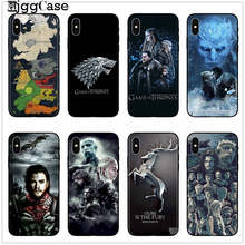 Game Thrones Daenerys Dragon Jon Snow tyrion lannister Soft Phone Case Fundas For iPhone 7 8 6 6S 6Plus X XS MAX XR 5 5S SE Case(China)