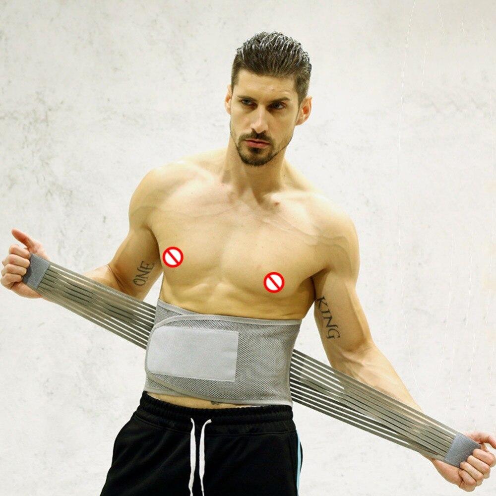Men Women Elastic Breathable Lumbar Brace Waist Support Sport Safety Accessories Corset Orthopedic Posture Back Belt Dropship