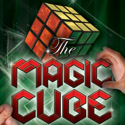The Magic Cube By Gustavo Raley Close Up Magic Tricks Gimmick Stage Magic Show Illusions Magician Cube Toys
