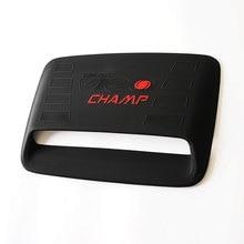 Для toyota Hilux аксессуары ABS черный Капоте vent вставить для toyota Hilux Vigo 2012-2014 стайлинга Автомобилей hilux капоте SUNZ(China (Mainland))