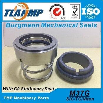 M37G-45 M37G/45-G9/G6 juntas mecánicas burgmann (Material: TC/SiC-VIT) Eje 45mm bombas con G6/G9 de carburo de silicio de asiento