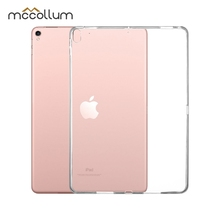 Soft Silicone Tablet Case For Apple iPad Pro 10.5 Case Ultra-thin Cover For iPad Pro 10.5 2017 Cover Transparent Back Coque surehin nice smart leather case for apple ipad pro 12 9 cover case sleeve fit 1 2g 2015 2017 year thin magnetic transparent back