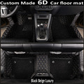 """Custom car floor mats made for Toyota Land Cruiser 200 Prado 150 120 Highlander FJ Crusier case car-styling carpet liners (2007"