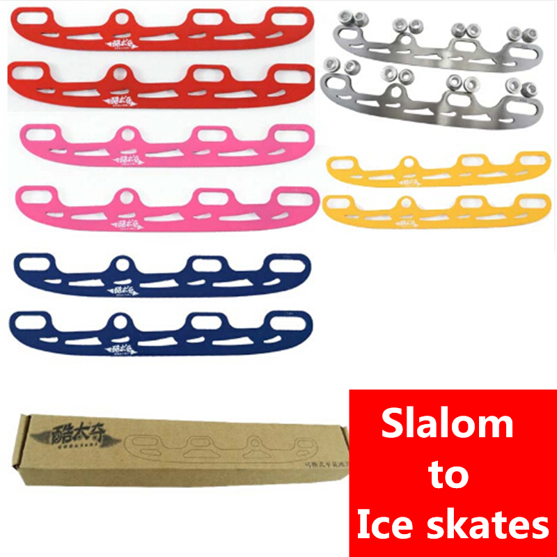 Inline Skates Roller Convert To Ice Blade Skates FSK Slalom Ice Skiing Dancing Skating Knife 219mm 227mm 231mm 243mm Frame Base