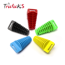 Triclicks New Motorcycle Dirt Bike ATV 4 Stroke Muffler Tail Pipe Exhaust Silencer Wash Plug 5 Colors 42x27mm Car Washing Plugs
