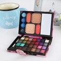 Criativo portátil carteira requintado colorido da sombra de olho sombra de olho sombra de olho caixa mirror maquiagem beleza frete grátis