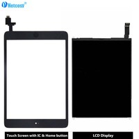 Netcosy For Ipad Mini 1 Touch Screen Digitizer Panel LCD Display Screen Repair Parts For Ipad