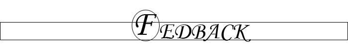 FEDBACK