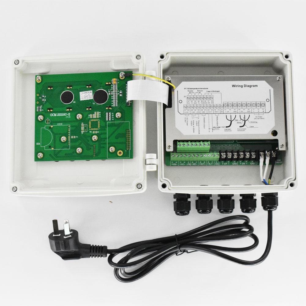 Computer PC Water Cooling System Water Flow Meter Speedometer Sealing Green