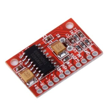 High-Power 2-Channel 3W PAM8403 Audio Super Mini Digital Red Amplifier Board image