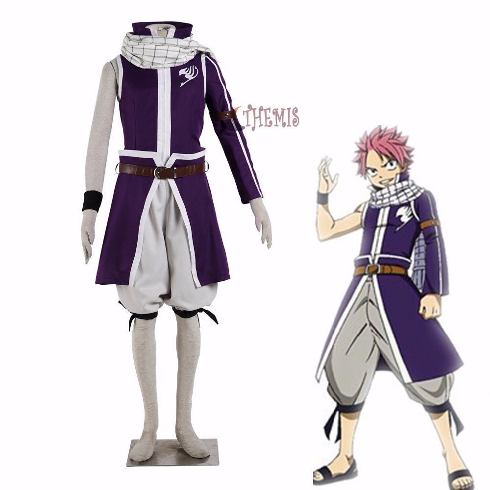 Athemis  FAIRY TAIL cosplay costume Etherious  Natsu  Dragneel  cosplay costume unisex  any size