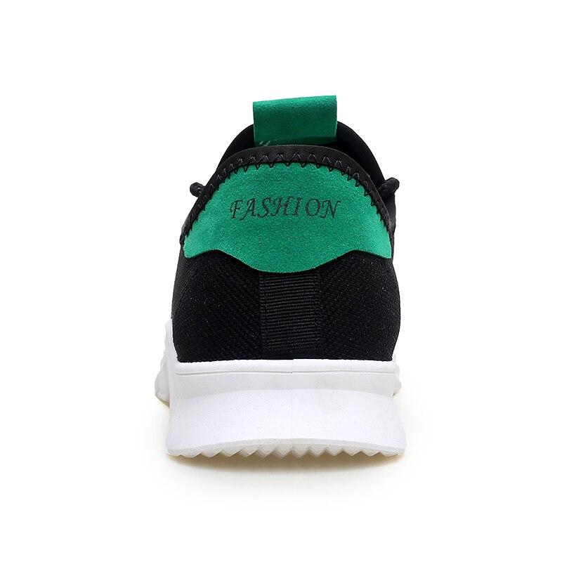 Malla Primavera Adulto blanco Zapatillas Masculino gris Otoño Hombre Negro Estudiante Ligero Tenis Causal up Lace Calzado Transpirable Hombres Zapatos 5qtpZx6H5w