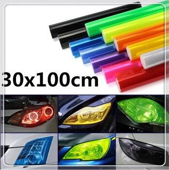 30x100 reflektorów samochodu winylu naklejka foliowa naklejka dla Infiniti G37 FX50 FX37 FX35 esencja EX37 QX QX60 Q30 Q70L m35h JX