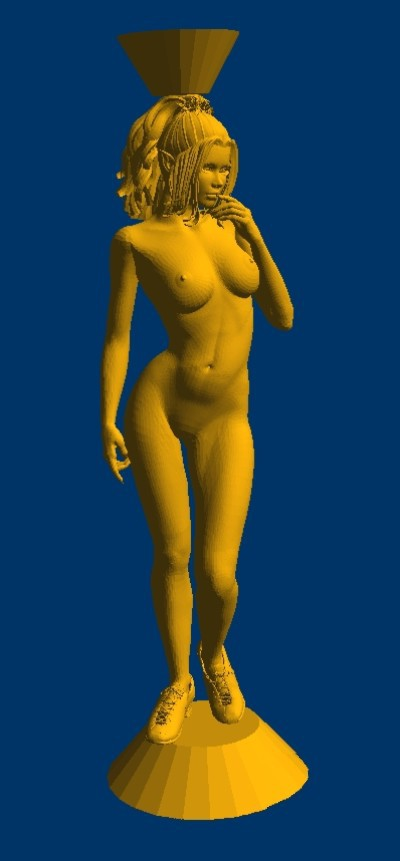 New 3D model for cnc 3D carved figure sculpture machine in STL file format naked woman-3 портативная акустика hi fun hi bomb 2 pink