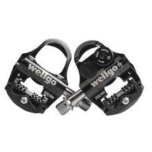Wellgo HR300 Bike Bicycle Self-locking Pedal BlueTooth Pedal
