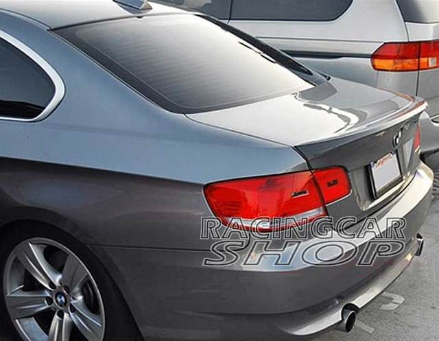 Unpainted Csl Style Add On Trunk Lip Spoiler For Bmw E92 3 Series 2d Coupe M3 330i 335i 328i 07 13 B078f