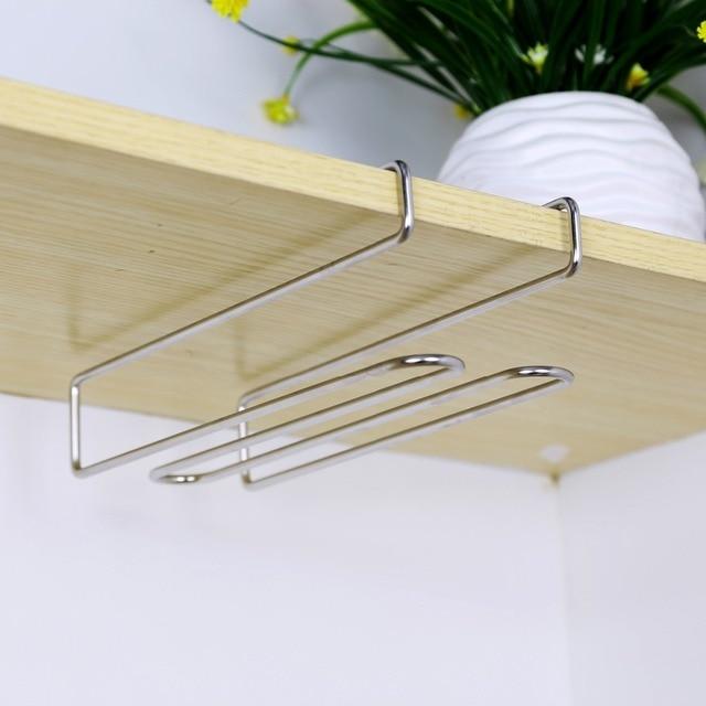 trois taille nouveau en acier inoxydable suspendus porte. Black Bedroom Furniture Sets. Home Design Ideas