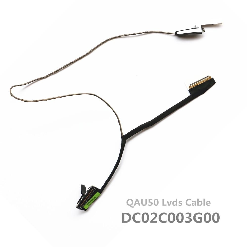 New QAU50 DC02C003G00 Lvds Cable For HP Envy6 Envy6-1000 Envy6-1103tx Envy6-1214tx Envy6-1221tx Lcd Lvds Cable 686592-001