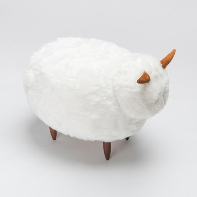 Alta Calidad de la Nieve Pelaje Hermosa Piel de Oveja Silla para Niños