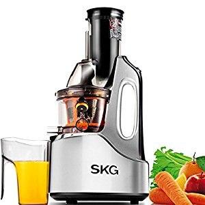 SKG Wide Chute Anti-Oxidation Slow Masticating Juicer Vertical Masticating Cold Press Juicer пылесос skg xc2752