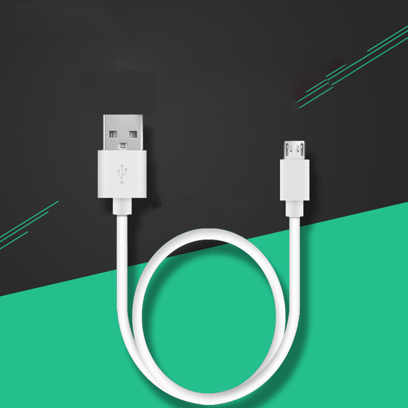 V8 Micro USB Cable White Fast Charging USB Data Cable For Samsung S7 Edge Wire Cords
