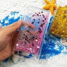 "Фотография Soft Case Xiaomi Redmi 4A Cover Glitter Stars Dynamic Liquid Quicksand Silicon TPU Phone Back Cover For Redmi 4 A 5.0""Case Cover"