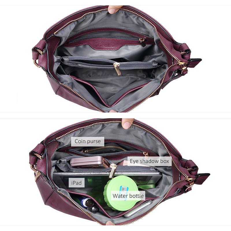 REALER frauen handtaschen weibliche Crossbody schulter taschen hohe qualität PU leder messenger taschen für damen big Totes große kapazität