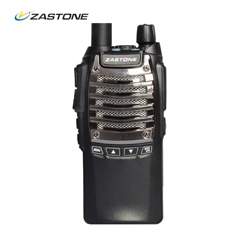 imágenes para Nueva ZASTONE T2000 8 W de Dos Vías de Radio de Largo Alcance Walkie Talkie 10 KM 2100 mAh Rechargerable Batería Handheld CB Radio de Comunicación