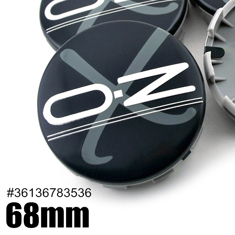 LHFACC Wheel Center Hub Cap Cover Emblem Badge Sets of 4 for E36 E38 E39 E46 E53 E60 E61 E63 E64 E65 E66 E70 E71 E72 E82 E83 E85 E86 E88 E89 E90 E91 E92 E93 F01 F02 F07