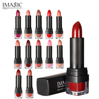 12PCS/LOT IMAgic Lipstick Charming Waterproof Maquiagem Long Lasting Sexy Colors Matte Nature Makeup Beauty Lips Cosmetic Tools