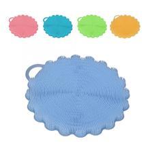 Горячая многофункциональная силиконовая щетка чаша Чистящая средство для посуды фрукты овощи инструмент для очистки лица инструмент для очищения кожи