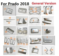 ABS салона Аксессуары Тюнинг автомобилей наклейки для Toyota Land Cruiser 150 Prado LC150 FJ150 2018