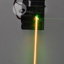 Мини 200 мВт желтый лазерный модуль/красный и зеленый лазер комбинированный/ttl